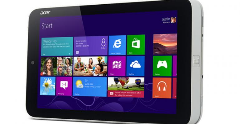 Acer Announces First Windows 8 Mini-Tablet
