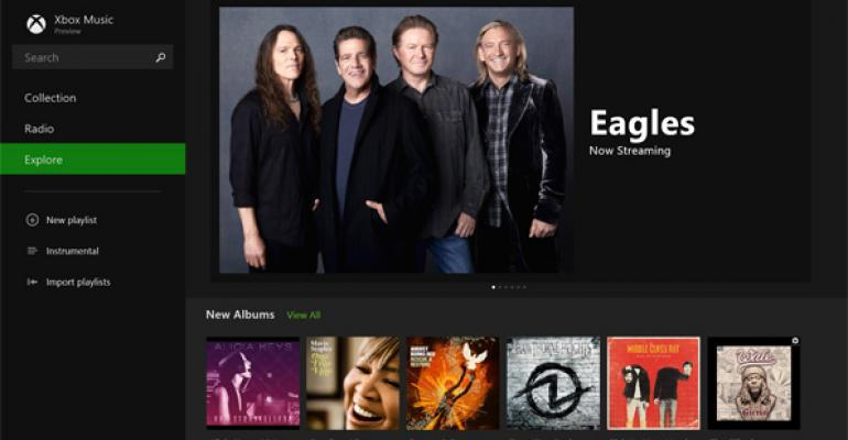 Hands-On with Windows 8.1: Xbox Music App