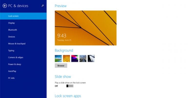 Hands-On with Windows 8.1: PC Settings