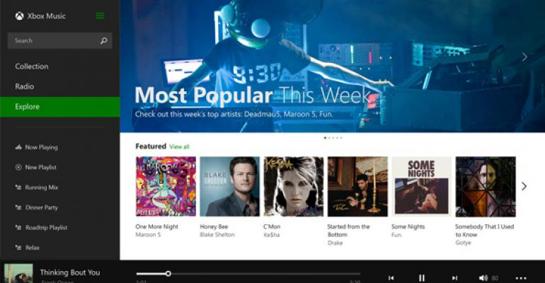 More Changes Coming to Xbox Music for Windows 8/RT