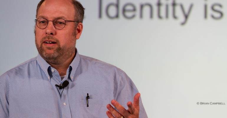Gunnar Peterson oneraindrop keynoting at the Cloud Identity Summit