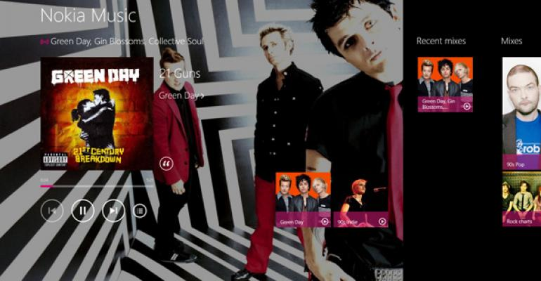 Windows 8/RT App Pick: Nokia Music 1.2