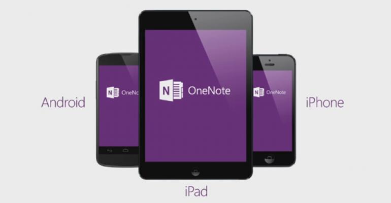Microsoft Updates OneNote Mobile App for iPhone, iPad and Android
