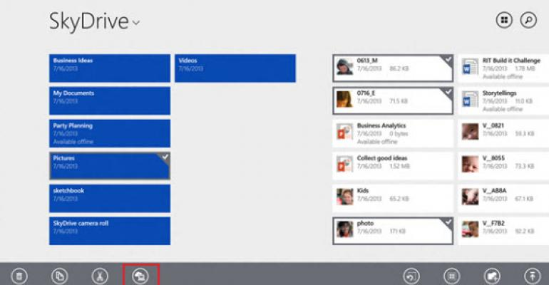 Windows 8.1 Introduces Offline Access to SkyDrive Stored Files