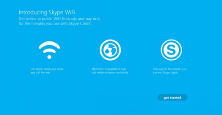 Skype Wants to Be Your Wi-Fi Huckleberry