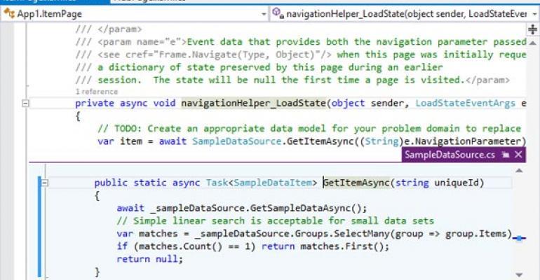 Microsoft Visual Studio 2013 Top Features