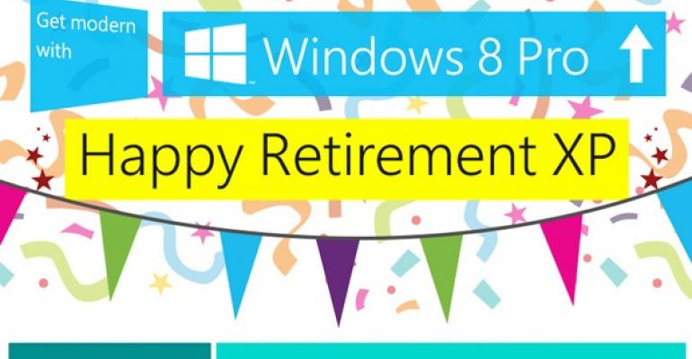 Silly XP Retirement Party Should be a Wake Instead