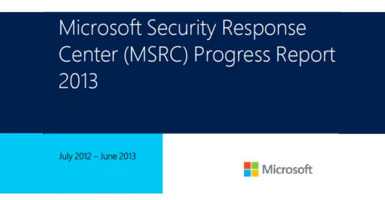 MSRC State-of-the-Union for 2013 is Now Available