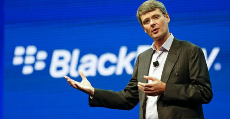 It's Over: BlackBerry Seeks Exit Strategy