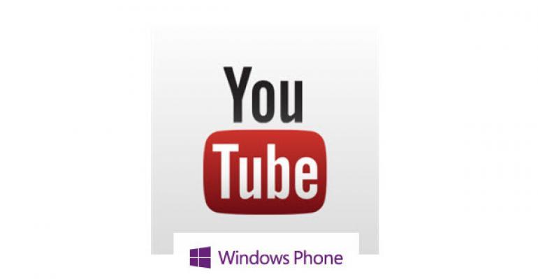 Google Gets Involved, Microsoft's YouTube App Bombs