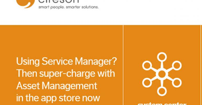 Microsoft Principal PM for Service Manager Leaves for Partner, Cireson