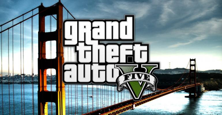 Grand Theft Auto V Sets Single-Day Video Game Sales Record