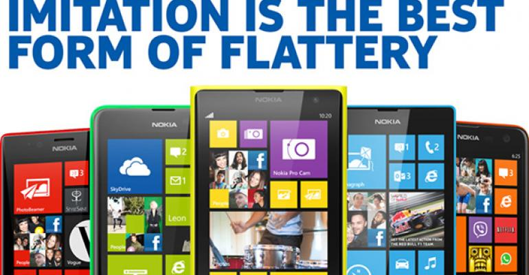 Nokia Takes on the New iPhones