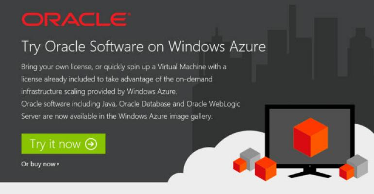 Oracle on Windows Azure Gets Real