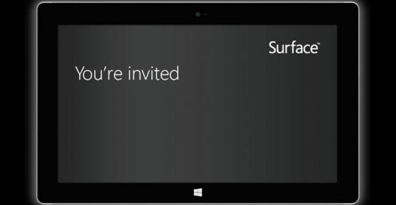 Microsoft Sets September 23 for Surface 2 Launch