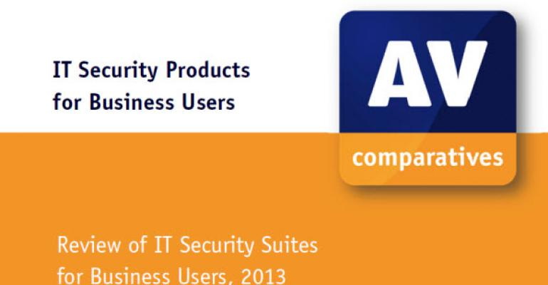 AV Comparatives 2013 IT Security Products for Business Users Report Released