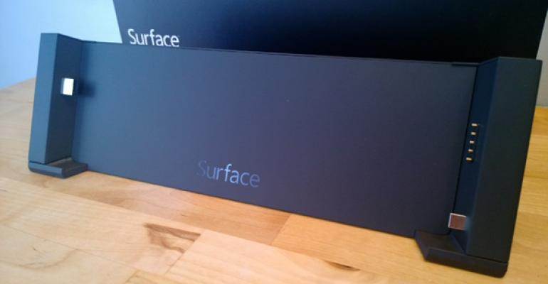 Surface Docking Station: First Impressions and Photos