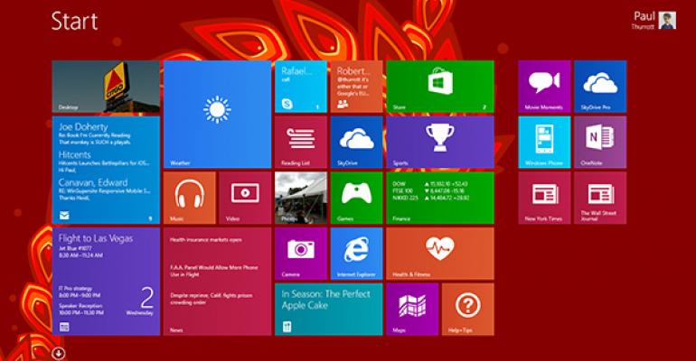 Windows 8.1 Tip: Personalize the Start Screen