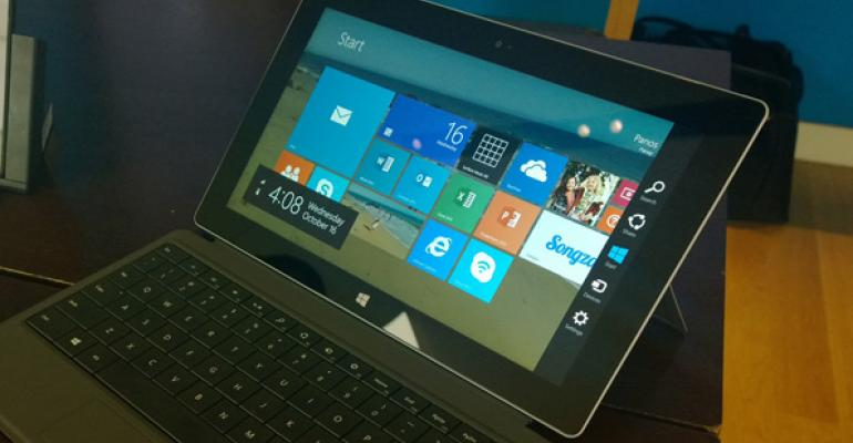 Microsoft Surface 2: First Impressions and Photos