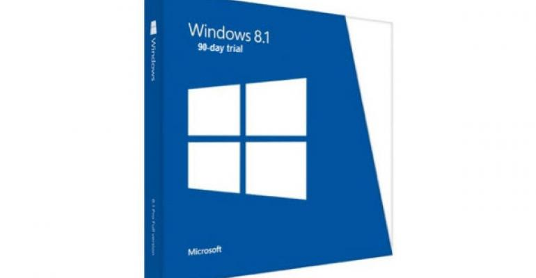 Get a 90-day Trial ISO of Windows 8.1. Enterprise