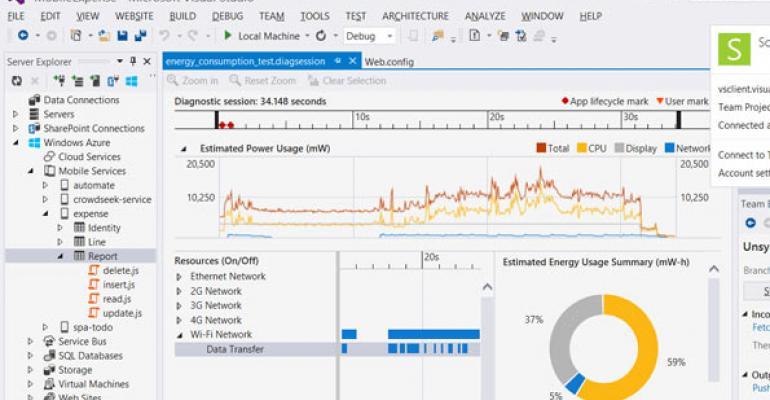Microsoft Visual Studio 2013 new productivity feature