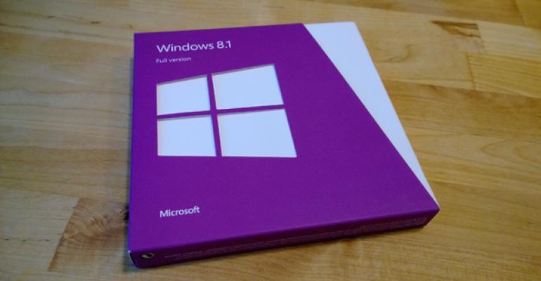 Windows 8.1 Retail Media