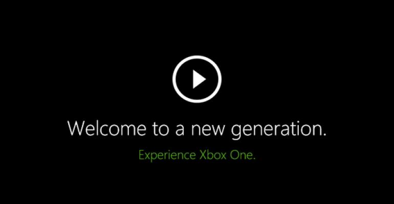 Xbox One User Experience Preview