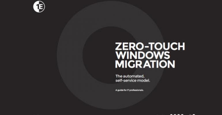 New eBook and Web Site from 1E Educates on How to Automate Windows Migrations