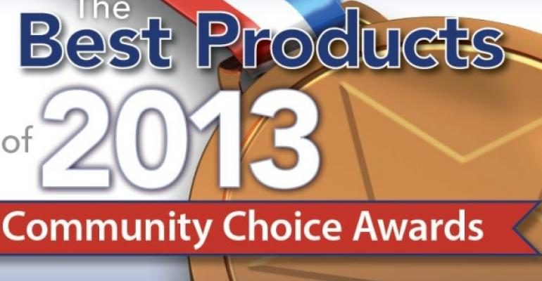 2013 Community Choice Awards art