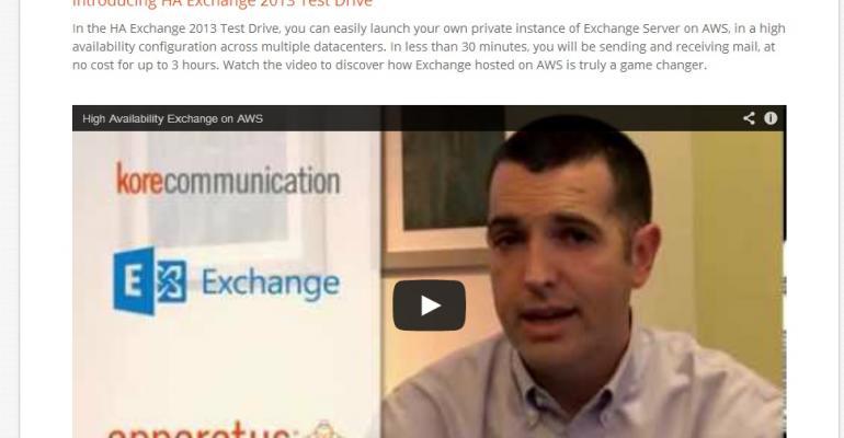 Running Exchange 2013 on Amazon Web Services