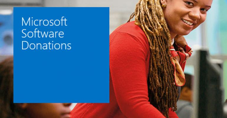 Microsoft Offering Windows 8.1 Donations to Nonprofits