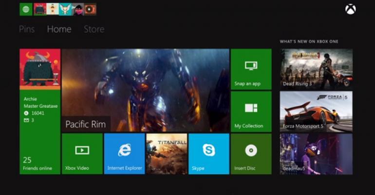 Xbox One: Dashboard
