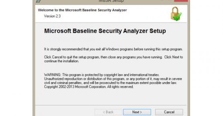 Microsoft Baseline Security Analyzer 2.3 Adds Support for Windows 8, Windows 8.1, Windows Server 2012, and Windows Server 2012 R2