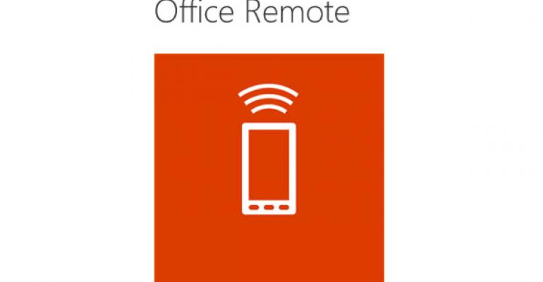 Quick Walkthrough for Setting Up Microsoft Office Remote