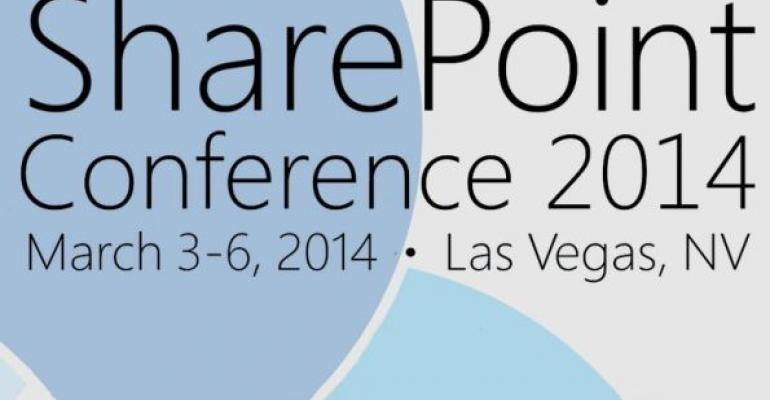 SharePoint Conference 2014 March 36 2014 Las Vegas NV