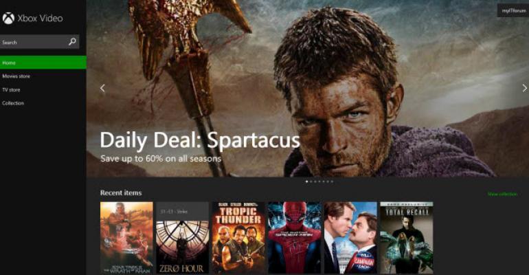 Xbox Video Hits the Web