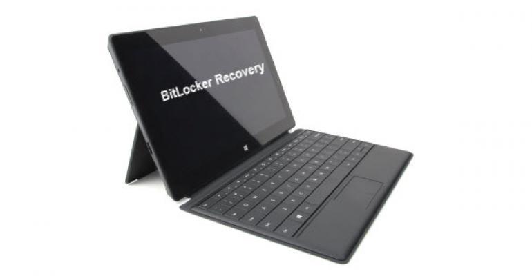 surface pro recovery key faq