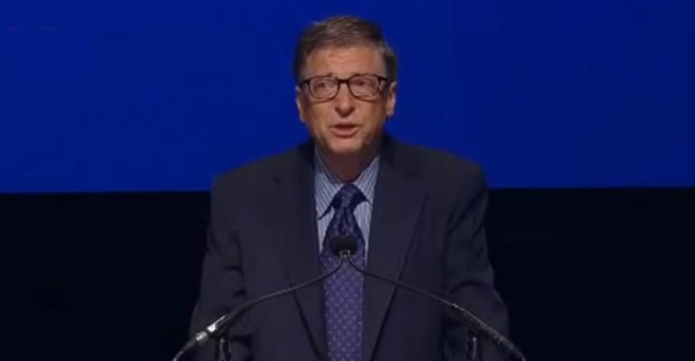 Bill Gates discusses the CEO search at a recent Microsoft shareholders meeting