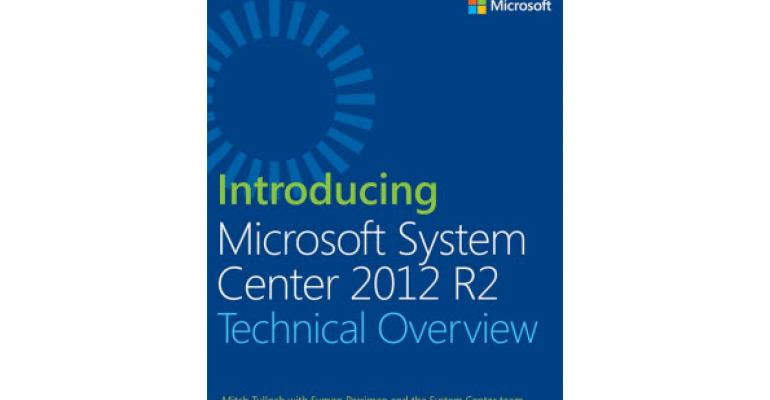 New System Center 2012 R2 eBook That's Heavy on Cloud