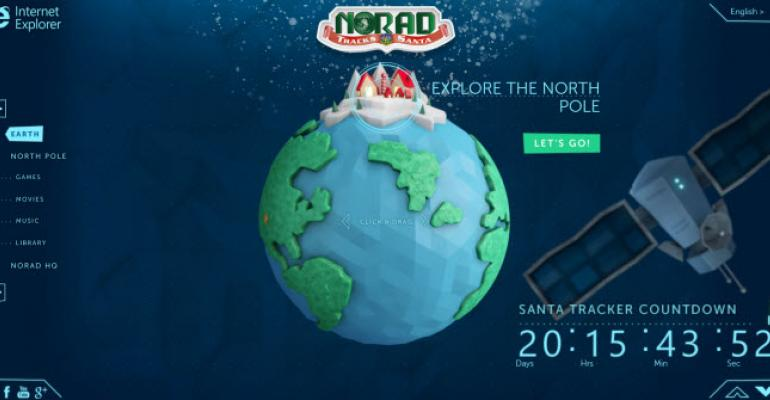 Microsoft's ReThink Initiative Produces the Best NORAD Santa Tracker Yet