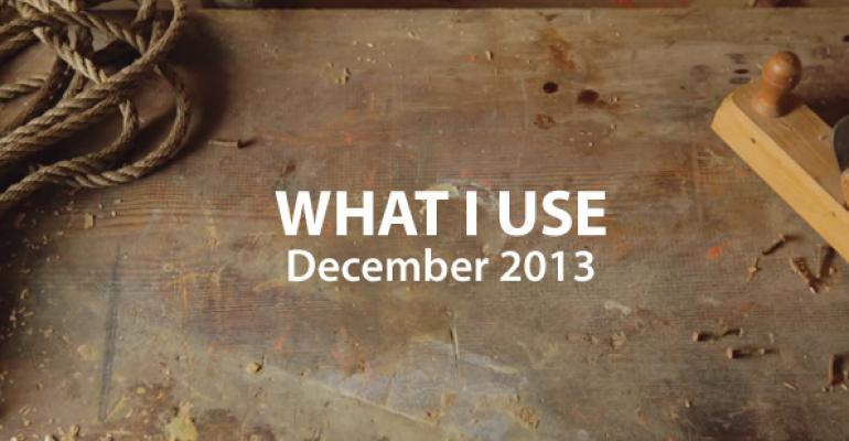 What I Use: December 2013