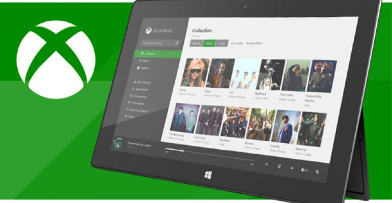 Xbox Music: Download Music for Offline Playback