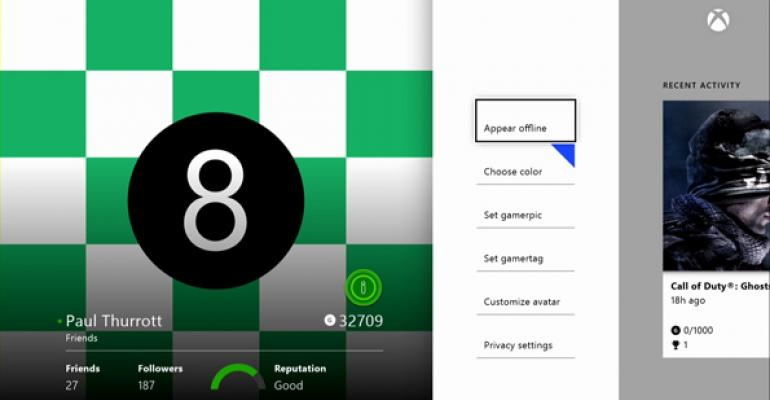 Xbox One: Profile
