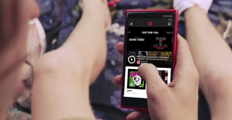 Beats Music for Windows Phone 8