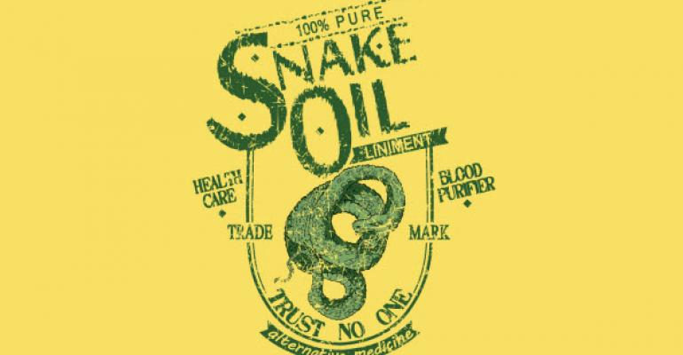 Tech Consumers Are Still Buying Snake Oil in 2014