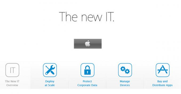 Apple Updates IT Tools for iOS Deployment and Management in the Enterprise