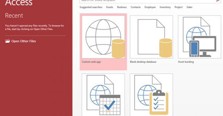 Microsoft's Access Apps Finally Loses the Preview Tag