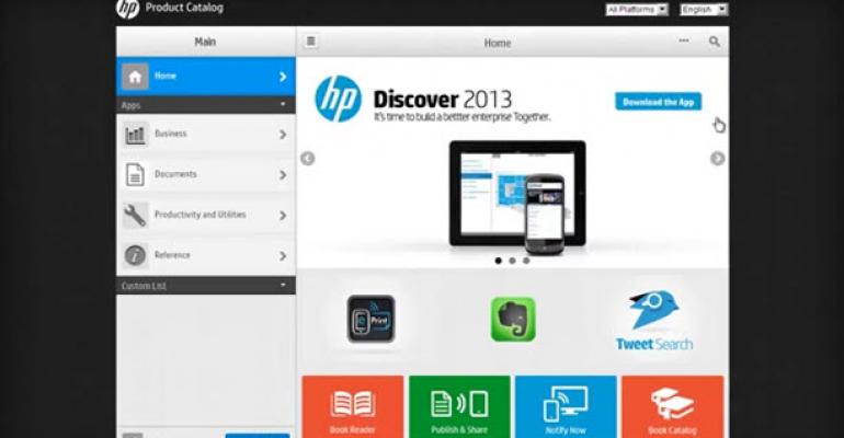 HP Sets a March 2014 Release for Its Own Mobile App Catalog for Enterprises