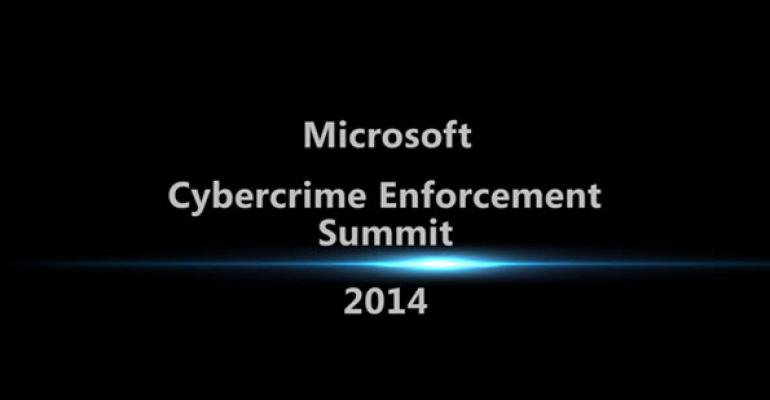 Microsoft Hosts the First Annual Cybercrime Enforcement Summit