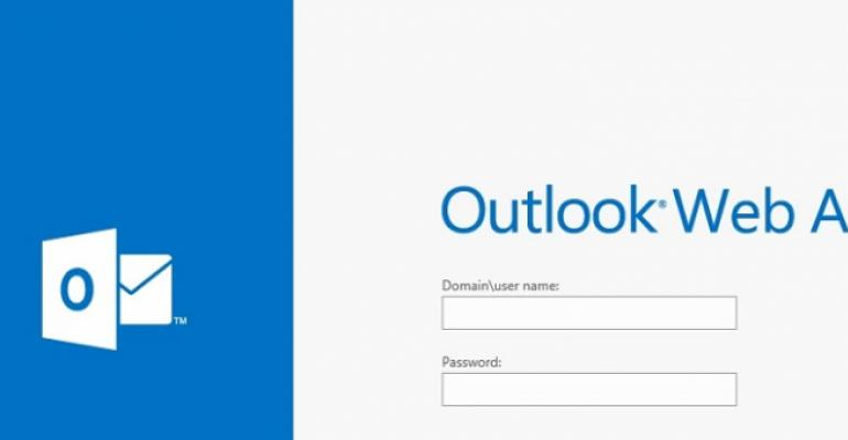 The unhappy mixture of Office 365, Outlook Web App, and Windows XP
